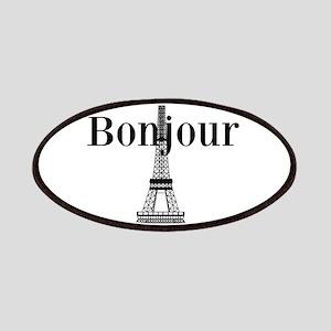 Bonjour Eiffel Tower Patches