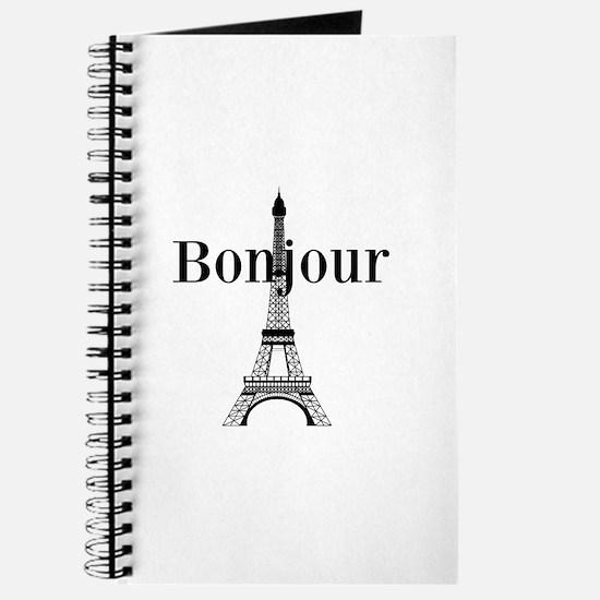 Bonjour Eiffel Tower Journal