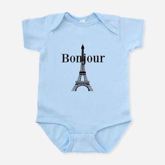 Bonjour Eiffel Tower Body Suit