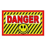 SFH Danger Rectangle Sticker