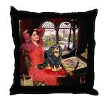 Lady & Cavalier (BT) Throw Pillow