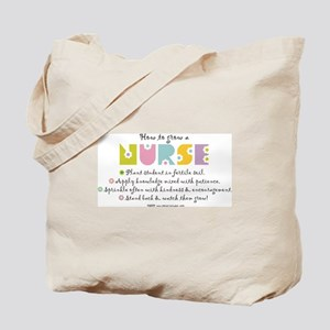 How to Grow a Nurse Tote Bag
