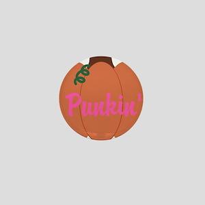 Punkin Pumpkin Mini Button