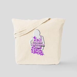 FIBROMYALGIA WEARING IT WELL! Tote Bag