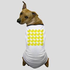 Rubber Ducks Dog T-Shirt