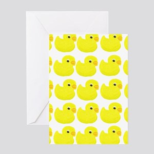 Rubber Ducks Greeting Cards