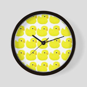 Rubber Ducks Wall Clock