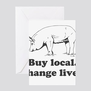 Buy local. Change lives. Greeting Cards