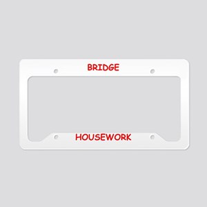 duplicate bridge License Plate Holder