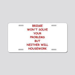 duplicate bridge Aluminum License Plate