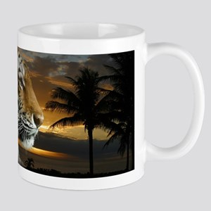 Tiger Sunset Mugs