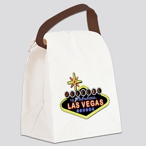 Fabulous Las Vegas Canvas Lunch Bag