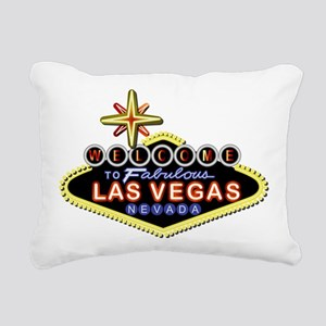 Fabulous Las Vegas Rectangular Canvas Pillow