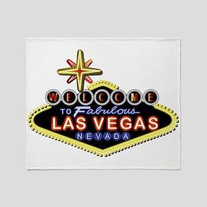 Fabulous Las Vegas Throw Blanket