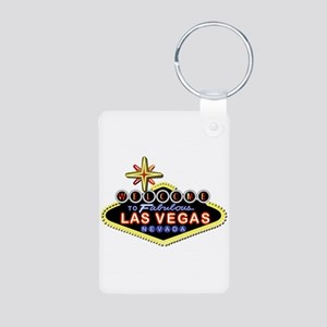Fabulous Las Vegas Aluminum Photo Keychains
