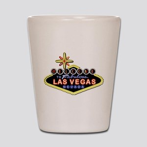 Fabulous Las Vegas Shot Glass