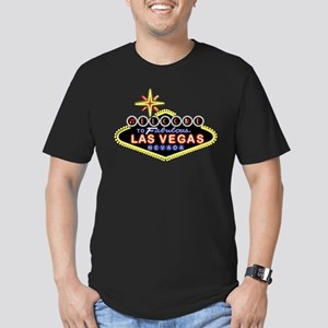 Fabulous Las Vegas Men's Fitted T-Shirt (dark)