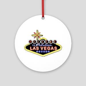Fabulous Las Vegas Ornament (Round)