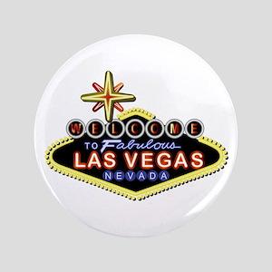 """Fabulous Las Vegas 3.5"""" Button"""
