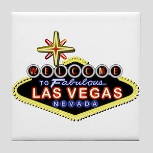 Fabulous Las Vegas Tile Coaster