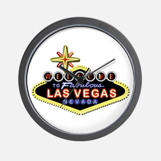 Fabulous Las Vegas Wall Clock