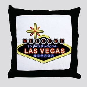 Fabulous Las Vegas Throw Pillow