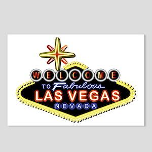 Fabulous Las Vegas Postcards (Package of 8)