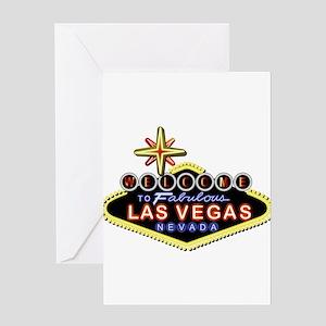 Fabulous Las Vegas Greeting Card