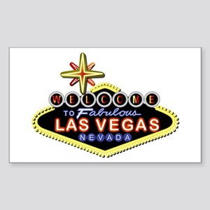 Fabulous Las Vegas Sticker (Rectangle)