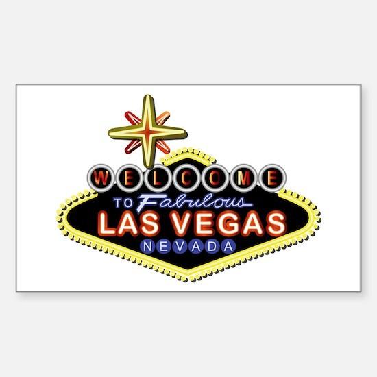 Fabulous Las Vegas Sticker (Rectangle)