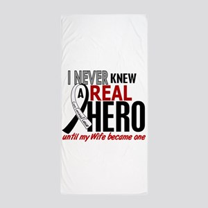 Carcinoid Cancer Real Hero 2 Beach Towel