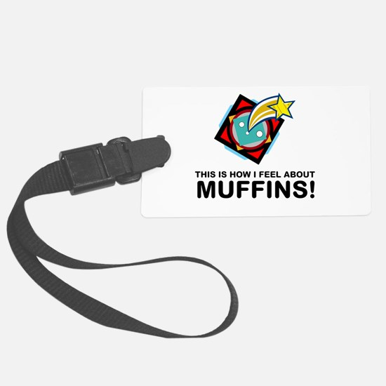 Muffin Eater Luggage Tag