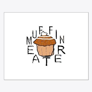 Muffin Eater Small Poster
