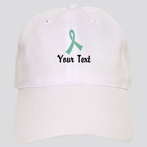 Personalized Light Green Ribbon Awareness Cap