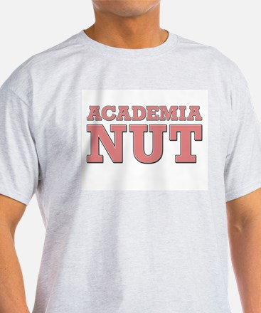 Academia Nut Salmon Ash Grey T-Shirt