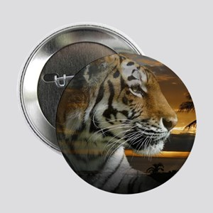 "Tiger Sunset 2.25"" Button"