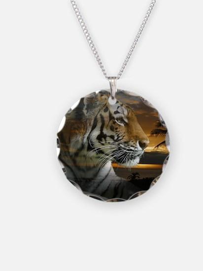Tiger Sunset Necklace