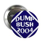 Dump Bush 2004 Button