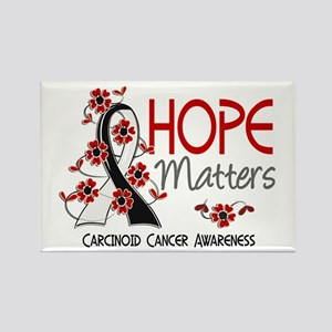 Carcinoid Cancer Hope Matters 3 Rectangle Magnet