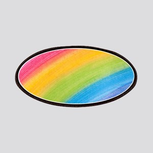 Acrylic Rainbow Patches