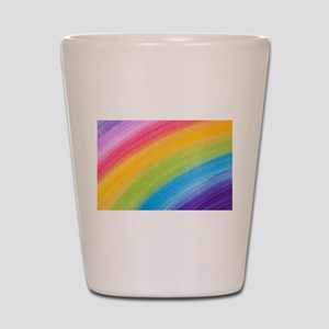 Acrylic Rainbow Shot Glass