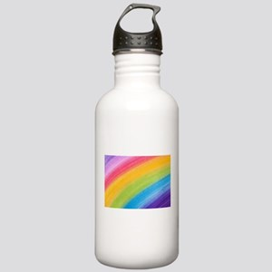 Acrylic Rainbow Water Bottle