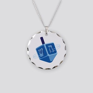 Hanukkah Dreidel Necklace