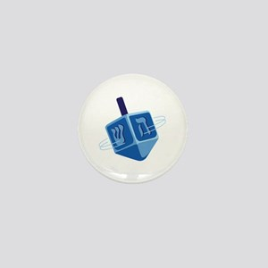 Hanukkah Dreidel Mini Button