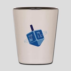 Hanukkah Dreidel Shot Glass