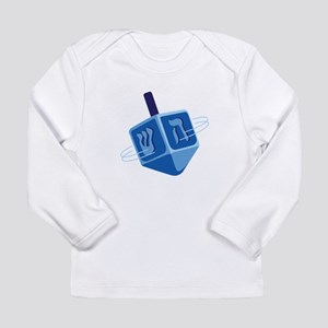 Hanukkah Dreidel Long Sleeve T-Shirt