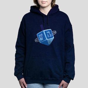 Hanukkah Dreidel Hooded Sweatshirt