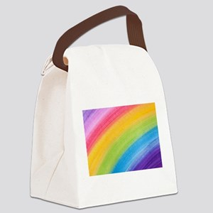Acrylic Rainbow Canvas Lunch Bag