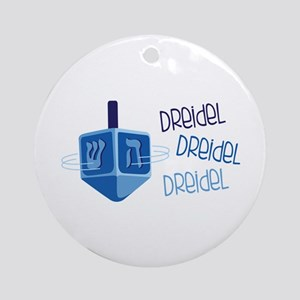 DReideL DReideL DReideL Ornament (Round)