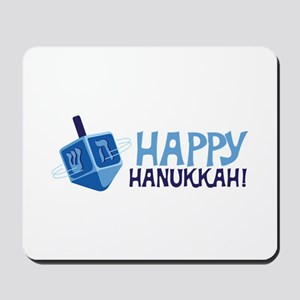 HAPPY HANUKKAH! Mousepad